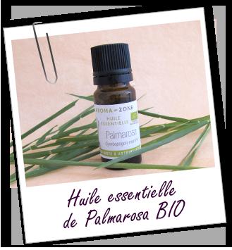 Déodorant naturel : huile essentielle de Palmarosa