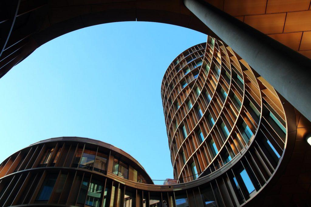 Immeuble et architecture banlieue Parisienne
